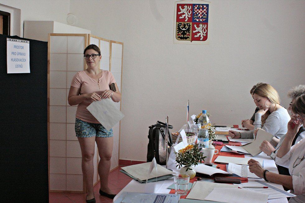 Volby do Evropského parlamentu v Cítově probíhaly v klubovně místního sokola. V sobotu kolem 12 hodiny již bylo možno odhadnout, jaká byla volební účast.