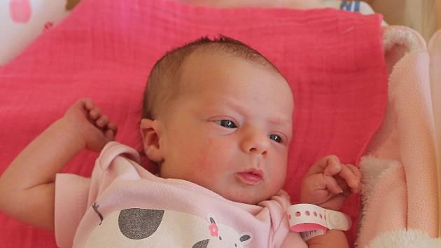 Františka Juránková, Vojkovice. Narodila se 26. 6. 2019, po porodu vážila 2 610 g a měřila 45 cm. Rodiči jsou František Juránek a Veronika Stinková.