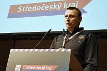 Před účastníky úterního setkání vedení Středočeského kraje se starosty v kongresovém hotelu Clarion v pražských Vysočanech vystoupil Jaroslav Vavřina.