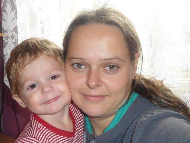 Největší radost Jaroslavě Zitové už dva roky dělá její syn Radoslav.