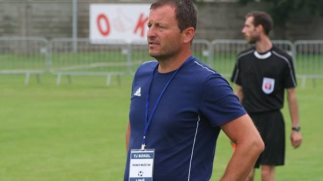 Fotbalový trenér Miroslav Jíra