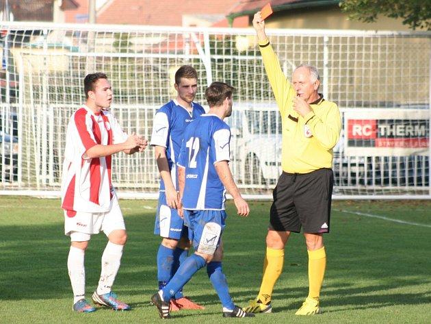 Slavia Velký Borek - FK Neratovice/Byškovice B (1:2 po PK); 11. kolo okresního přeboru; 19. října 2014