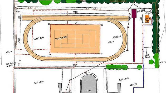 Projekt multifunkčního hřiště musí mšenská radnice přepracovat