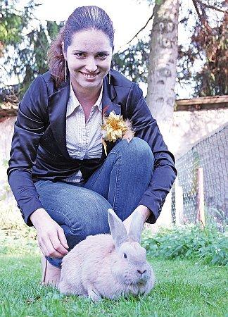 Lucie Zapletalová schovem králíků začala relativně nedávno.