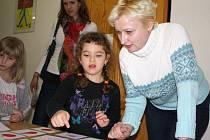 Na dni otevřených dveří čekaly na předškoláky nejrůznější úkoly, které měly prověřit jejich pamět, znalosti i dovednosti.