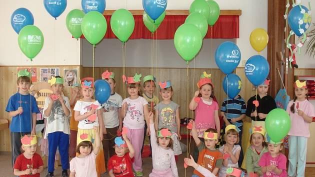 Dubnové zážitky dětí z mělnické mateřské školy Pohádka.