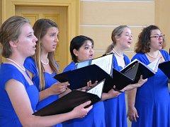 Vystoupením v Mělníku zahájil své středoevropské turné Concert Choir University of Minnesota Morris.