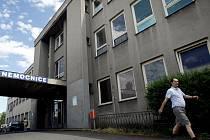 Nemocnice v Brandýse nad Labem.