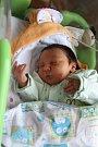 JAKUB ŠTIBRAN se mamince Michaele z Kralup narodil v mělnické porodnici 10. října 2017, vážil 4,08 kilogramu.