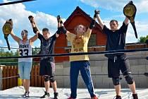 BORCI z VcV Originál Wrestlingu od zahájení letošní sezony soupeří už o dva šampionské opasky.
