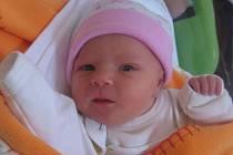Kristýna Pešanová se rodičům Kristýně a Václavovi z Chodče narodila 6. prosince 2012, vážila 2,63 kg a měřila 46 cm. Na sestřičku se těší 6letý Venda.
