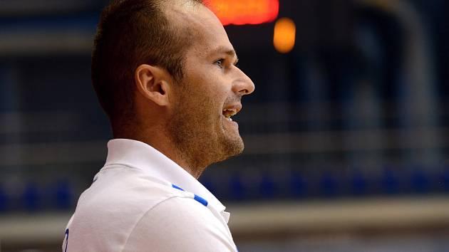 Trenér české futsalové reprezentace do 21 let Marek Kopecký.