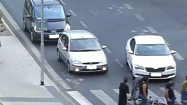 Nehoda dvou cyklistů v Neratovicích.