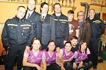 Sbor dobrovolných hasičů z Libiše.