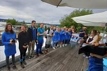 YC Neratovice, vítězný tým prvního letošního závodu jachtařské ligy.