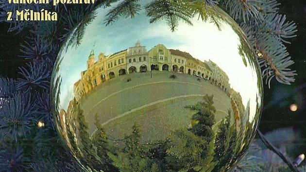 Mělnický osvětový a okrašlovací spolek vydal nový betlém a vánoční pohlednice.