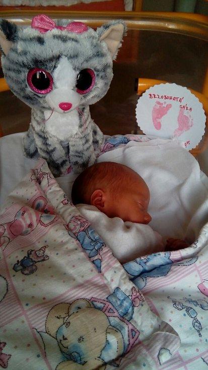 Sára Brzobohatá se narodila rodičům Tomášovi a Janě z Neratovic 23. června. Vážila 2680 gramů a měřila 48 centimetrů.