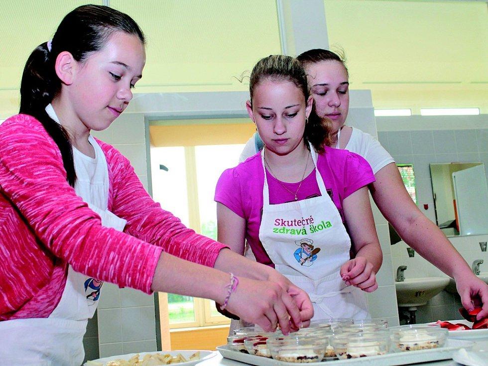 Food Revolution Day v ZŠ Ing. M. Plesingera-Božinova v Neratovicích.