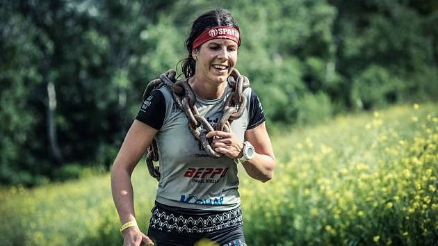 Martina Pavlíková, reprezentantka Spartan OCR