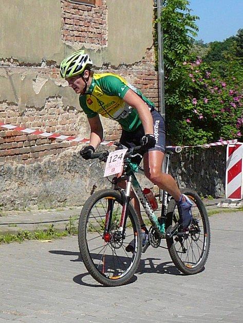Vítěz závodu Marek Nebesář