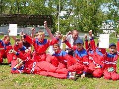 Hasičská mládež z Úžic vyhrála dvakrát po sobě okresní soutěž Plamen.