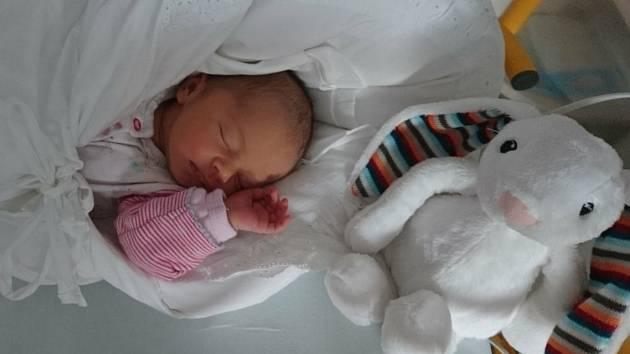 ANEŽKA KOUDELOVÁ se narodila 7.7.2020 v mělnické porodnici, vážila 3150 g a měřila 48 cm. S rodiči Kristýnou a Lukášem Koudelovými bydlí v obci Kly (okres Mělník) a doma se na ni těší sestřička Maruška.