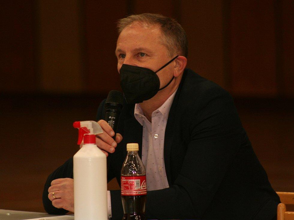 Volební valná hromada OFS Mělník, bývalý předseda OFS Jiří Kabyl