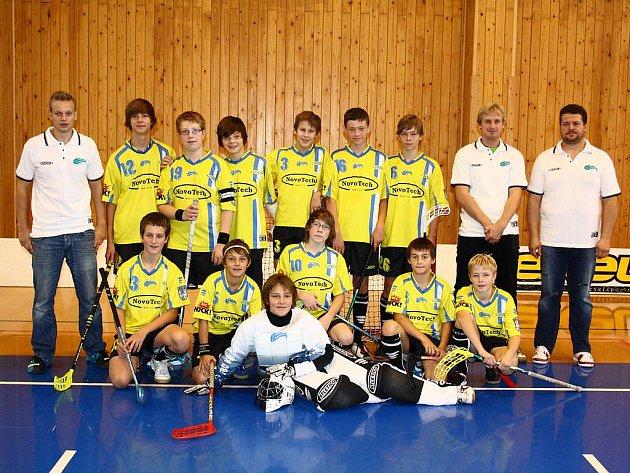 Starší žáci FBC Kralupy - sezona 2011/2012