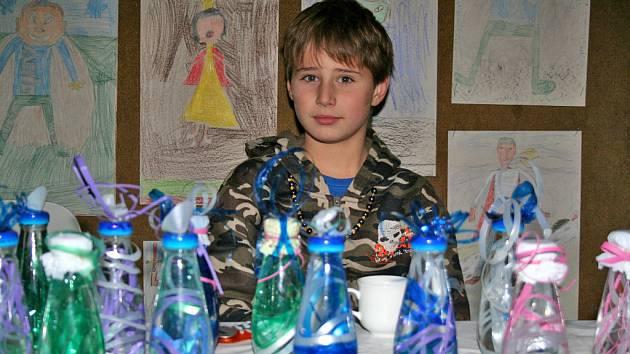 Jarmark a vystoupení žáků Základní školy ve Mšeně