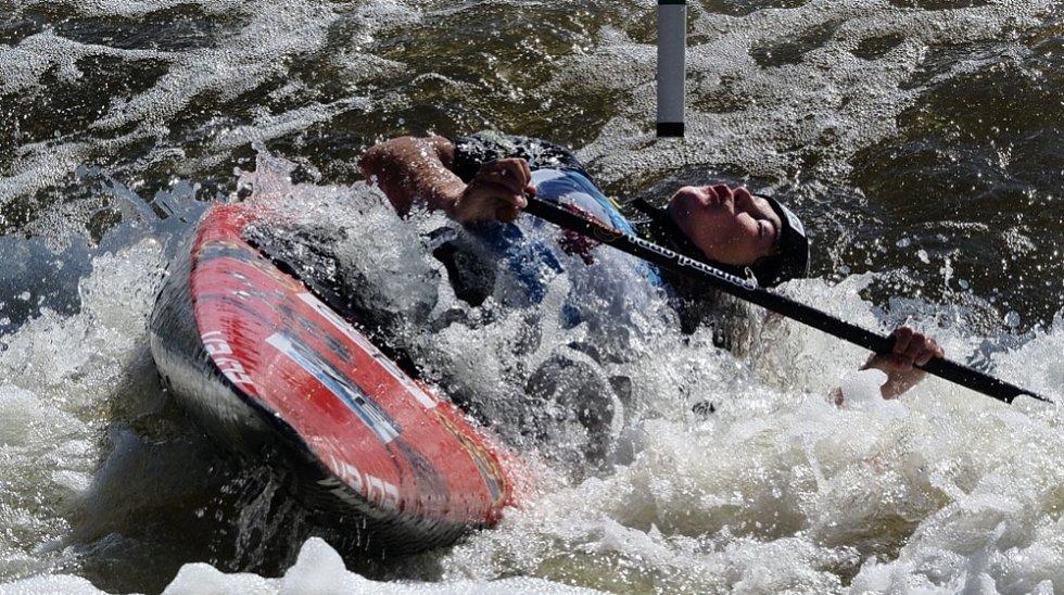 Tereza Fišerová přivezla z mistrovství Evropy ve vodním slalomu v Ivree druhé místo.