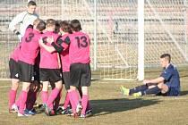 FK Neratovice/Byškovice - FK Litoměřice (1:2); 16. kolo divize B; 8. března 2015