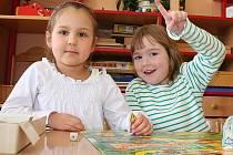 Děti v obřístevské mateřské škole.