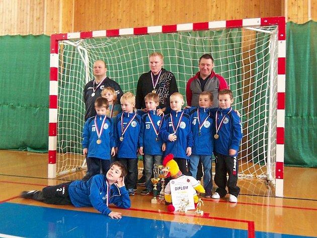Vítězný tým libišské minipřípravky