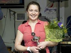 BRONZ. Johana Kořanová je třetí nejlepší českou jachtařkou.