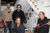 Postižená oblast, to jsou (zleva vzadu) Pavel Malý, Martin Rejšek, Filip Jakš a Michal Praslička.