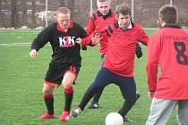K vyladění formy na jarní odvety ve třetí třídě využili fotbalisté Mlékojed Mělnickou zimní ligu.