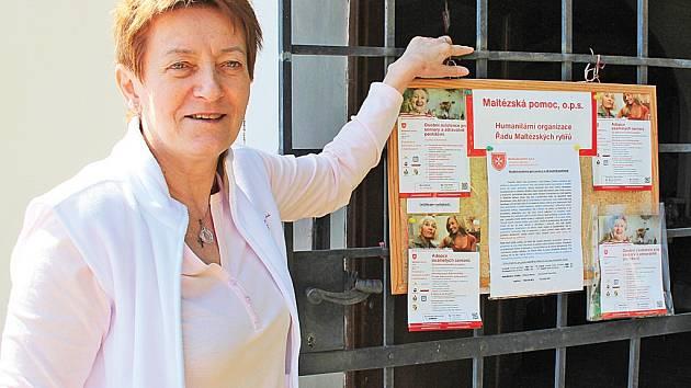 Koordinátorkou projektu Osobní asistence je Marie Zítková.