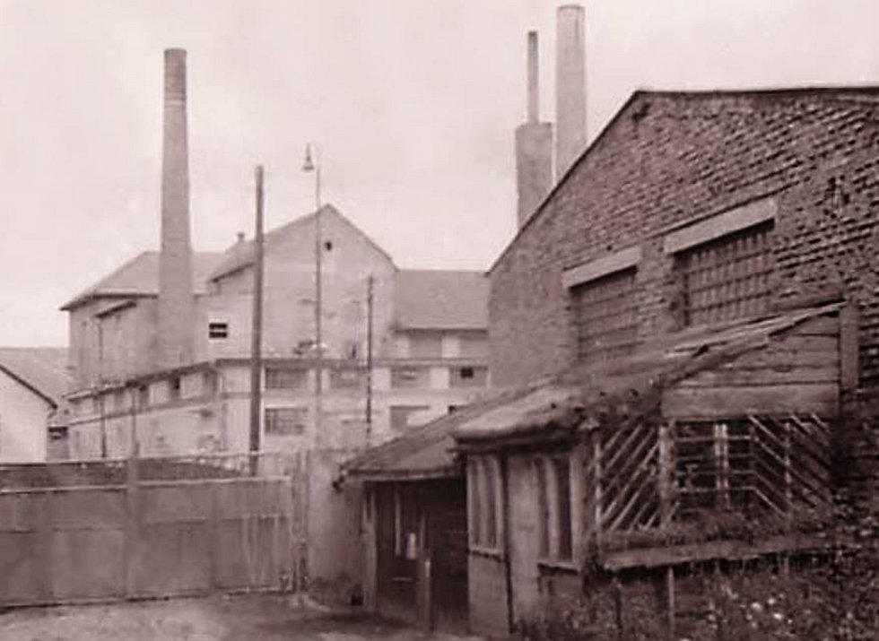 Lobkowiczký pivovar ve 30. letech 20. století.
