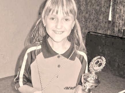 Adéla Kášová se svými trofejemi.