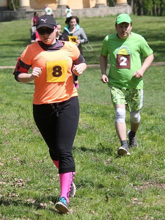 Běh veltruským parkem 2016.