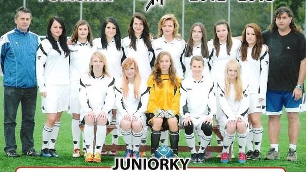 Drtivá většina loňských juniorek FC Mělník dnes hraje ČFL.