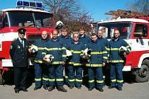 Zásahová jednotka sboru dobrovolných hasičů SDH Blata.