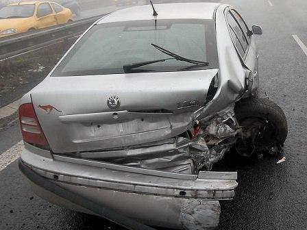 Jeden z řidičů dokonce ujel z místa nehody.