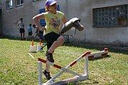 Děti z Neratovic a okolí slavily svůj svátek v sobotu v areálu Asociace víceúčelových základních organizací technických sportů a činností v Kostelecké ulici.