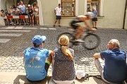 21. ročník mělnického triathlonu se jel v sobotu 20. července.