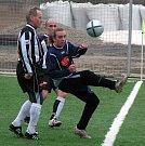Z pohárového utkání Botafogo Mělník - Vehlovice.