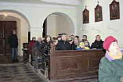 Kostel sv. Linharta není běžně veřejnosti přístupný. Bývá otevřen většinou jen v době mší, a tak dalším bonusem adventní neděle byla prohlídka prostor kostela.