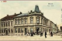 Snímek Dörflova domu z roku 1905.
