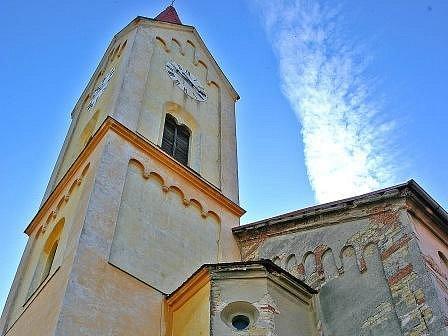 Kostel sv. Martina ve Mšeně.