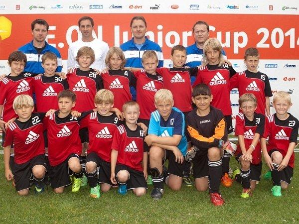 Neratovičtí tygři na turnaji E.ON Junior cupu vÚstí nad Labem.